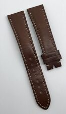 Authentic Omega Speedmaster Brown Calf Leather 19mm x 16mm Strap OEM 98000409