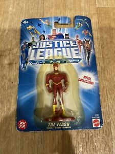 """309/1) DC-Mattel THE FLASH Justice League Unlimited JLU 3"""" Metal Collection 2004"""