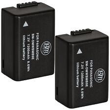 BM 2X DMW-BMB9 Batteries for Panasonic Lumix DC-FZ80, DMC-FZ40K, FZ45K, FZ47K