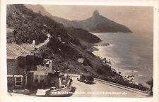RIO DE JANEIRO BRAZIL~AVENIDA NIEMEYER e RESTAURANTE JOA~REAL PHOTO POSTCARD ***