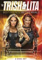 WARNER HOME VIDEO D739049D WWE-TRISH STRATUS AND LITA-BEST FRIENDS BETTER RIV...