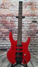 Hohner The Jack Electric Guitar 80s Red Japan Steinberger Trem MIJ Neck Thru