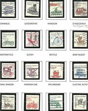 U.S. Stamps Scott 1897//2468 Transportation Coil Series - issues 1981-1995 - #3