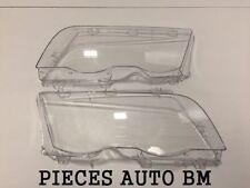 2X VIDRIO CRISTAL FARO DELANTERO E46 FASE 1 BMW SERIE 3 323i 170CV 98-01