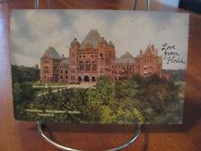 """1906 """"Provincial Parliament Bldgs."""" Toronto Canada Postcard"""