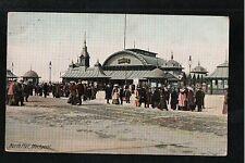 L@@K  North Pier Blackpool 1908 Postcard ~ FAIR QUALITY