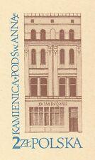 POLAND 1981 **MNH Postcards Cp#789 Tenement house