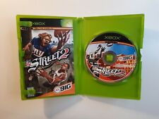 Original XBOX NFL Street 2 Game COMPLETE - FAST AND FREE SHIPPING ! RARE CIB