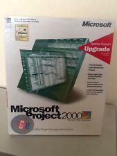 Microsoft Project 2000 UPGRADE Nuevo Y En Caja