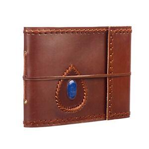 "Semi-Precious Stone Leather Photo Album Scrapbook, Fits 120 6x4"" or 60 7x5"""