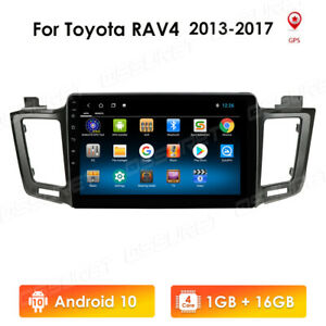 Fit For Toyota RAV4 13-17 Android 8.1 Car Radio Stereo Player 10.1''GPS WIFI mo