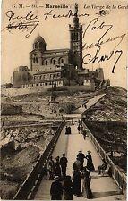 CPA Marseille-La Vierge de la Garde (185846)