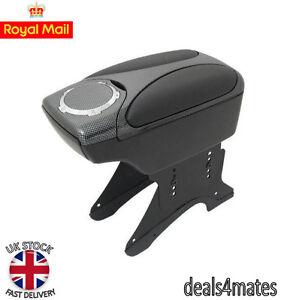 Carbon Armrest Arm Rest Console for FIAT BRAVO BRAVA GRANDE PUNTO 500 NEW BOXED