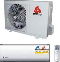 Chigo 2.6kw (1hp) Reverse Cycle Inverter Split Air Conditioner 1 Yr Warranty
