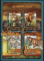 CENTRAL AFRICA  2016 BIG CATS   SHEET  MINT NH