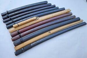 Antique japanese 11 saya set for long katana sowrd wakizashi
