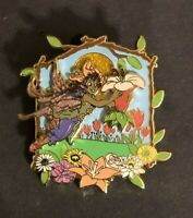 disney trading pin fairies fairy pixie hollow lily 2007 3d tinker bell friend