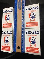 4 Zig-Zag kutcorners SLOW BURNING Rolling paper 4*100=400 (Zig-Zag White)