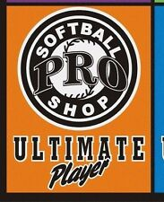 SOFTBALL- ORANGE T-SHIRT= ULTIMATE PLAYER  LARGE  T-SHIRT HANES BEEFY T