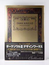 Dark Souls III DS 3 Design Works Illustration Art Book Hardcover EMS/DHL Japan