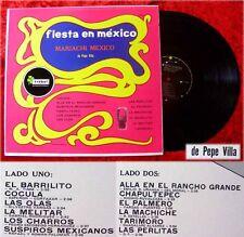 LP Mariachi Mexico Pepe Villa: FIESTA en Mexico (1970)