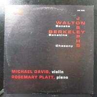 Davis, Platt - Walton: Sonata / Berkeley: Sonatina LP Mint- Orion ORS 78292 USA
