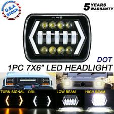 "105W 7X6"" 5X7"" LED Headlight DRL For F-250 F-350 F-450 F-550 Super Duty 99-2010"