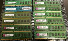 LOT 12 MIXED 1GB 1Rx8 DDR3 PC3-8500U 1066MHZ UNB DIMM MEMORY RAM DELL HP IBM