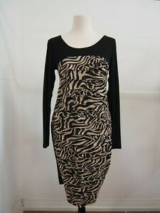 Didier Parakian Patterned Dress Size 14
