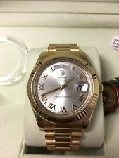 Rolex 2012 Day-Date II President 18k Yellow Gold Mens Watch Box/Papers 218238