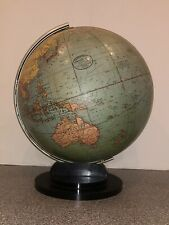 Vintage Art Deco Machine Age Hammond's Terrestrial World Globe 12�