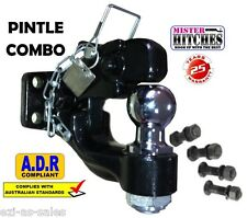 PINTLE HOOK COMBINATION HITCH ADR62/02 6 TONNE - TOW BAR TRAILER TOWING