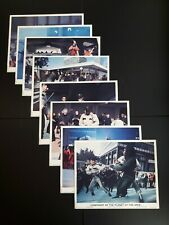 Conquest Of The Planet Of The Apes Original Uk Foh Lobby Cards Set 8
