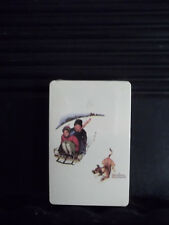 1 SEALED DECK OF PLAYING CARDS: ARTIST: NORMAN ROCKWELL