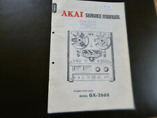 Original Service Manual Schaltplan Akai GX-266II
