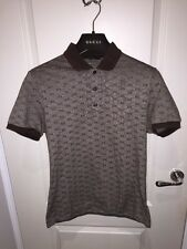 Men's Gucci GG Polo Shirt Size Medium Slim Fit Rare Deadstock