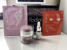 RODIAL Pink Diamond Travel Set: Magic Night,eye Mask,Mask & Soft Glow Drops,Bag