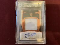 2017 Leaf  Metal Heroes Q  Preview Spectrum Copper Jack Eichel SSP 6/15 BGS 9