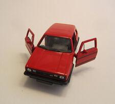 Welly vw Golf 1 GTI/Rosso/pressofuso Model/NEX MODELS/1:34 - 1:39/NUOVO
