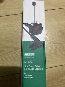 Flexson 5 M Power Cable For Sonos Speakers