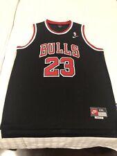Michael Jordan Chicago Bulls BLACK #23 Nike Swingman Jersey - Size XXL 2xl