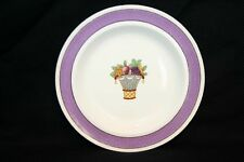 Vintage Wedgwood Directoire PURPLE Band Plate Bread Salad Etruria England China