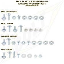 BOLT USA FULL PLASTICS FASTENER BOLT KIT KAWASAKI KX65 2001 - 2018