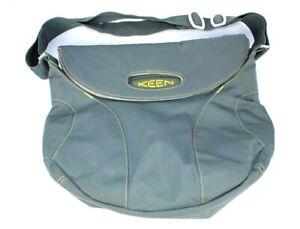 KEEN Transport Crossbody Messenger Bag Gray Outdoor Ballistic Nylon