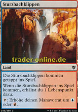 2x Sturzbachklippen (Swiftwater Cliffs) Khans of Tarkir Magic