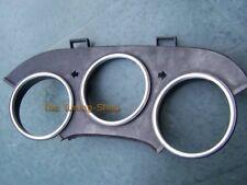Per TOYOTA SUPRA JZA80 MKIV 93-96 spazzolato satinato in lega quadrante di misura anelli circonda