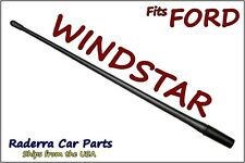 "32/"" Black Stainless AM FM Antenna Mast 1995-1998 Ford Windstar"