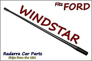 "FITS:1995-1998 Ford Windstar - 13"" SHORT Custom Flexible Rubber Antenna Mast"
