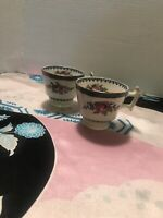 Booth Silicone China England Set Of 2 Tea cups