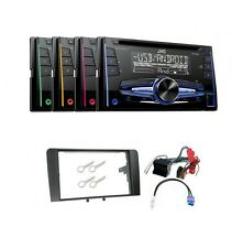 JVC KW-R520 Autoradio 2DIN CD MP3 AUX USB für Audi A3 8P 8PA